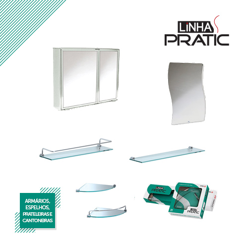 Pratic Collection – Mirror cabinets, mirrors and shelves